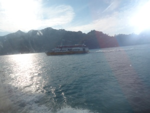 Ferry penyeberangan dari Kuala Perlis ke Langkawi
